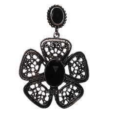 Buy this at  http://fleafashions.com/black-chandelier-earring-93.htmle at