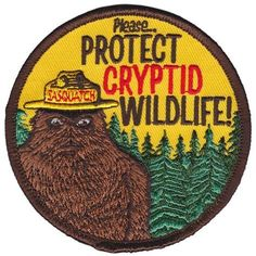 Cryptid PSA Patch #pinsandpatches