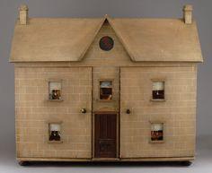 Stone Gables, An English Dollhouse circa 1860 (click for more photos)