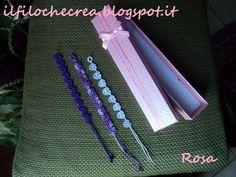 IL FILO CHE CREA: crocheted bracelets