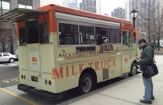 Mobile Food Truck: Milk Truck Grilled Cheese - New York City
