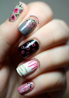 What are the 12 Easiest Nail Art Patterns?! | Manicurity