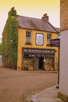 Bellasecretgarden — ~ old fashioned corner shop in England ~ Lyon's...