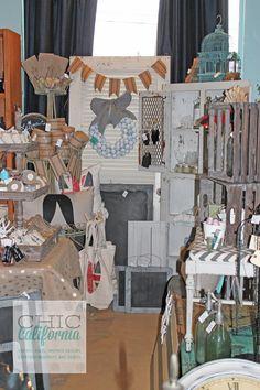 shop display, merchandising, shop merchandising, vintage booth display