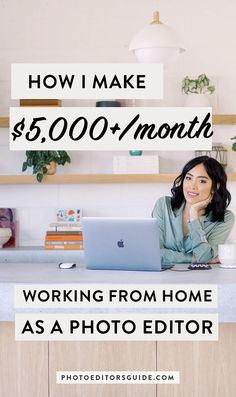 Learn the skills and business structure you need to become a profitable photo editor working from ma Earn Money From Home, Earn Money Online, Online Jobs, Way To Make Money, Marketing Online, Affiliate Marketing, Home Based Business, Online Business, Business Ideas