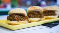 Sloppy joes with a side of guacamole: Try Katie Lee's recipe for Super Bowl - TODAY.com
