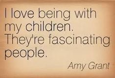 Whne you love being with your children... {pacifickid.net}