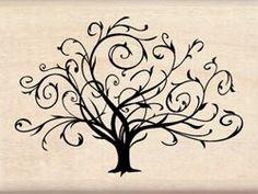 Flourished Fall Tree
