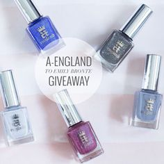 A-England 'To Emily Bronte' Collection Swatches and a Giveaway! | The Nailasaurus | UK Nail Art Blog