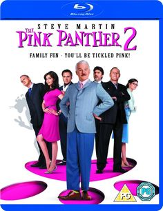The Pink Panther 2 Blu-ray (United Kingdom)