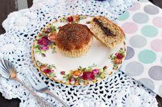 Donut-Muffins mit Nutella-Kern