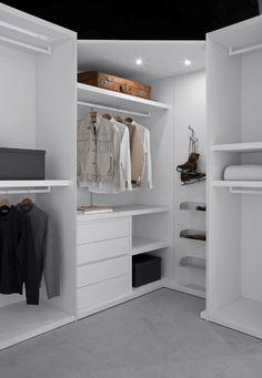 Love It In White Walk Closet Design Wardrobe Designs Ikea