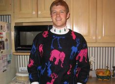 Another December Youth Night ugly sweater idea. Church Youth Night Kansas City