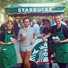 Y como la tarde está muy cafetera seguimos probando cafés fresquitos pero ahora en #GQJorgeJuan2014 con @Starbucks_es ☕️ @zonajorgejuan @GQSpain #GQ20 #ArnyDeliciosos