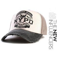 7eb2c8c854ed6 Top Quality NYPD Baseball Cap Hip Hop Style - 6 Variants