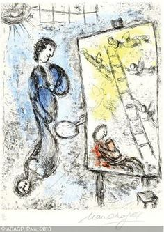 Find the latest shows, biography, and artworks for sale by Marc Chagall. Honored for his distinct style and pioneering role among Jewish artists, Marc Chagal… Art Nouveau, Chagall Paintings, Jacob's Ladder, Painter Artist, Marc Chagall, Create Words, Art Moderne, Gustav Klimt, French Artists