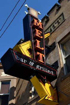 Kinda want to take some kind of picture here because it's one of our favorite places ever. MELT bar & grilled - Lakewood, Ohio