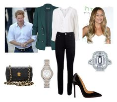 """""""Dukes and Duchesses at Reception with Clintons and Basketball Game"""" by royal-fashion ❤ liked on Polyvore featuring Witchery, Acne Studios, Christian Louboutin, Lauren Ralph Lauren, Tiffany & Co., Burberry and Chanel"""