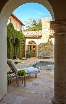 Bordley - mediterranean - patio - houston - Thompson Custom Homes