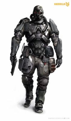 Concept Art: Killzone - Shadow Fall