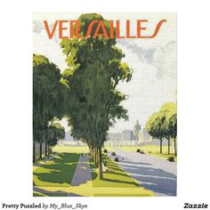 This French location makes for great art, a great puzzle, and a great gift! You're welcome to share this item with friends - just copy and paste the Zazzle page address. If you're on Pinterest, feel free to pin it. Have a great day!