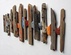 Wood Wall Art  'Ebb & Flow'  Abstract Art  Wall Art