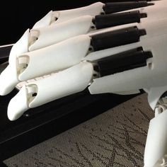Back side of Youbionic Hand #youbionic #bionic #hand #robot #design #DIY #industrialdesign #prosthetic #prosthetics #prosthesis #3dprinting #3dprint #3dprinted #cosplay #cyborg #mechatronics #medical #biomedical #technology #new #future #ironman #maker #makers #arduino #RaspberryPi #mechanics #render #animation by youbionic