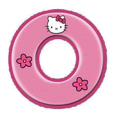 Hello Kitty Birthday Theme, Hello Kitty Themes, Kitty Images, Hello Kitty Pictures, Polka Dot Letters, Hello Kitty Imagenes, Disney Frames, Hello Kitty Wallpaper, Alphabet And Numbers