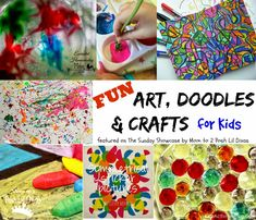 art, doodles and crafts for kids (featured on the Sunday Showcase) - links to lots more child centered ideas.