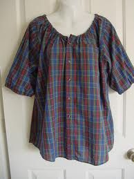 upcycling men's shirt - great idea for making gardening clothes ;)