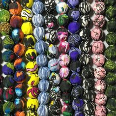 Yay! My first range of fabric covered bead necklaces are ready! I was finding it hard to pick which designs to use for this first batch but Im pleased with how they have turned out  #albaquirky #accessories #necklace #fabriccoverdbeads #chunkynecklace #recyled #recyclednecklace #necklaces #noths #notonthehighstreet #albaquirkypt @notonthehighstreet @wearenoths