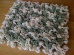 Crochet Hot Pad ~ FREE - CROCHET