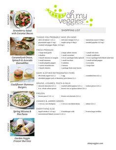This Week's Meatless Meal Plan   04.06.15