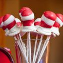 Dr. Seuss Hat Cake Pops