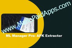 ML Manager Pro: APK Extractor v3.0 b66 Apk   ML Manager Pro is a customizable APK manager for Android with root features: extract any installed app mark them as favorite share .apk files easily uninstall system apps and much more.  FEATURES   Extract and backup installed & system apps and save them as APK.  Batch mode to extract multiple APKs.  Organize your apps marking them as favorite.  Share any APK with your contacts using Dropbox Telegram email etc.  Uninstall apps easily…