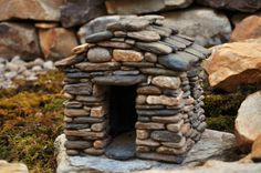 How To Build A Miniature Stone House | StoneworkbyStephens