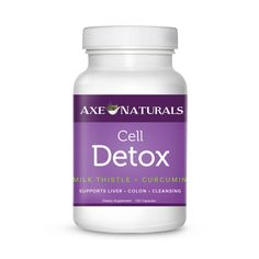 Toxins enter through our food, air, water and environment and need to be detoxified from our bodies. Rid your toxins with Axe Naturals Cell Detox