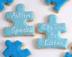 Beki Cook's Cake Blog: Light It Up Blue for Autism (April 2)