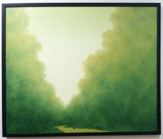 AFFORDABLE Art Fair 9/2015 - Hong Viet Dung, Monk's Journey, 2014. Oil on canvas, 39 x 47.""