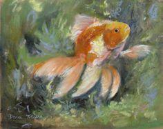 Popular items for goldfish print on Etsy