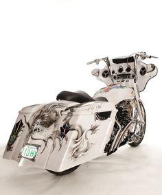 Custom Harley Street Glide Misfit Baggers