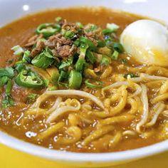 Malaysian Cuisine, Malaysian Food, Asian Noodle Recipes, Asian Recipes, Mee Rebus, Nyonya Food, Baby Food Recipes, Cooking Recipes, Malay Food