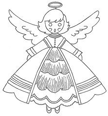 cute vintage patterns for coloring, embroidery, etc