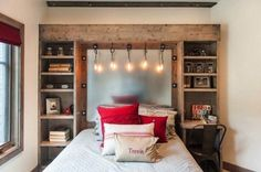 Industrial Style Bedroom Design Ideas-06-1 Kindesign More