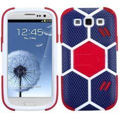 MYBAT FIFA World Cup 2014 Hybrid Case for Galaxy S3 III - Blue/Red