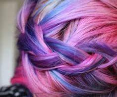 aurora borealis hair - Google Search