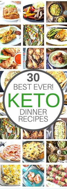 30 keto dinner recipes that you'll LOVE!! Easy low carb Ketogenic Diet Recipes that deliver that fat bomb you're looking for! by marquita
