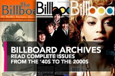 Billboard Magazine. He was written about in one. Need to find the exact year...