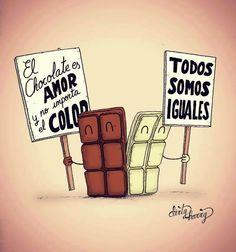 El chocolate es amor