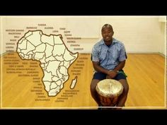 Five(ish) Minute Drum Lesson - African Drumming: Lesson 1: The Djembe - YouTube